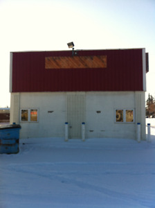 Commercial warehouse bay Wetaskiwin