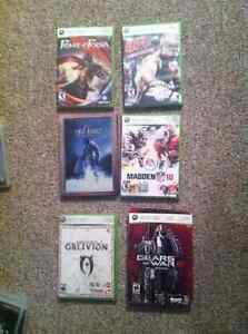 XBOX 360 Video Game Collection