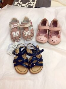 Lot of size 4 baby girl shoes (together or separate)