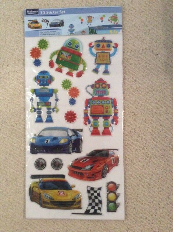 3D Sticker Set
