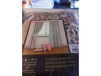 Brand new ring top curtains
