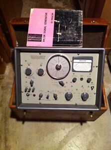 Marconi FM AM Signal Generator TF995A/2m Hewlett Packard 606A Kitchener / Waterloo Kitchener Area image 1