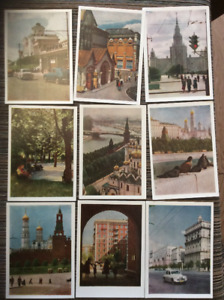 Lot of 24 postal cards of Russia