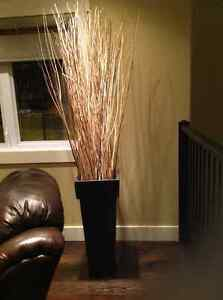 Two Decor Accent Vases - 6 feet high