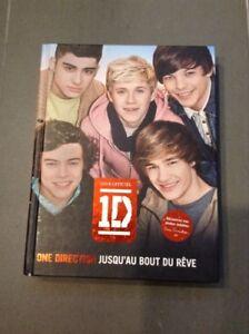 Livre One Direction Jusqu'au bout du rêve