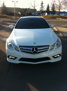 2010 Mercedes-Benz E-Class AMG package Coupe (2 door)
