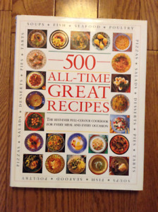 500 ALL-TIME GREAT RECIPES COOKBOOK