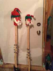 CHRISTMAS UGLY STICK AND WREATHS FOR SALE