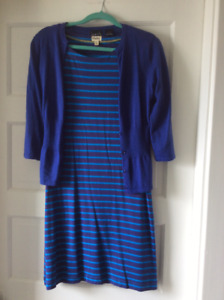 Hatley dress with Kersh cardi. $15 for the set.