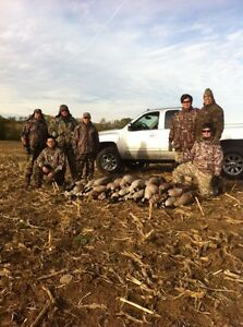 Guided Waterfowl Hunts (1 month to opener)