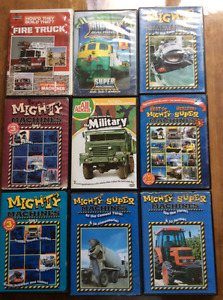 17 Mighty Machine DVDs