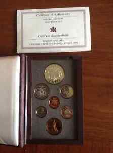 1994 Proof Special Edition Coin Set With 92.5 Silver Dollar