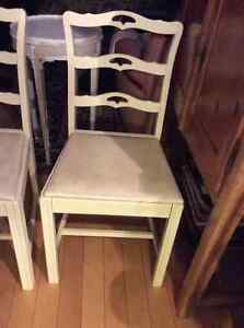 Antique 1940's ribbon back dining chairs Kitchener / Waterloo Kitchener Area image 3