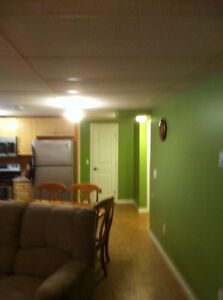 Timberlea 2 BR Basement Suite Furnished
