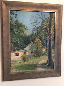 1930s Oil Painting Collection, Original Artist and opportunity!!
