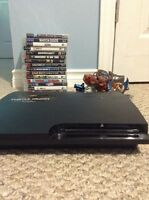 Ps3,games,cords and controller