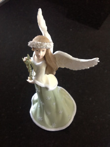 "Hand Painted ""Angels Watching Over You"" Figurine by RUSS"