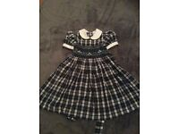 Hand smocked party dress