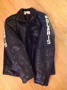 Mens leather snow mobile suit Strathcona County Edmonton Area image 1