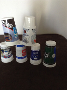 NHL  Souvenir Cups from NHL Cities