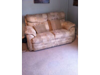 very good condition 2 seater sofa high back