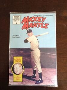 Mickey Mantle Comic Book 1991