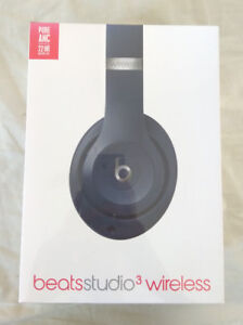 NEW In Box - Beats by Dr. Dre Studio 3 Bluetooth Headphones