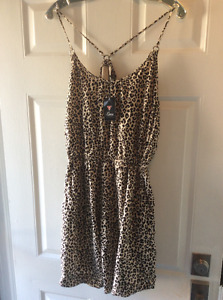 "Gorgeous, Sexy, Designer ""Guess"" Leopard Dress with pockets"