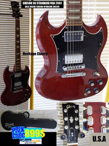 SUPERBE Guitare GIBSON USA SG 2007 standard & case