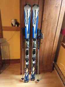 Bindings, boots, poles and bags