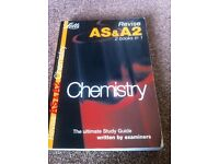 AS/A Level Chemistry revision guide for sale  London