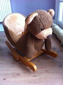 Tippitoes Honey Bear Rocker