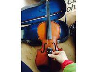 Half size violin