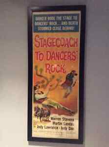 Stagecoach To Dancers Rock (FRAMED)