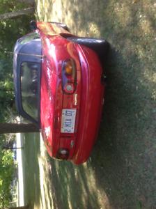 1993 Mazda Miata Red