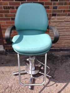 Barber/Hair Salon chair w/galvanize adjustable hight