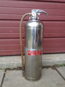 Vintage 1963 Fire Extinguisher
