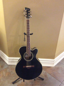 Carvel 625C MBK  Electric Acoustic Guitar  up for sale