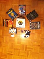 Game cube with 1 additional wireless manette 6 games etc.
