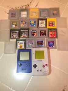 Huge Nintendo Lot includes rare games and two gameboys