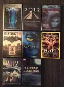 8 DVD/FILM/DOCUMENTAIRE - SCIENCE FICTION