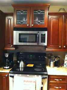 New kitchen cabinet doors only.  No cabinets.