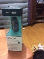 Fitbit charge wireless activity wristband brand new still in box