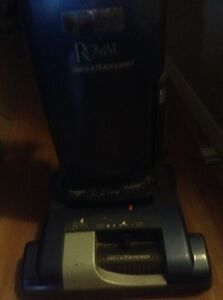 ROYAL Pro series vacuum run with heavy duty bags