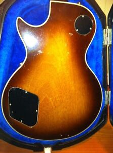 1979 Gibson Les Paul custom with chainsaw case  Cambridge Kitchener Area image 4