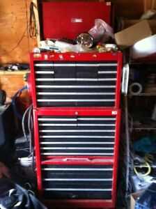 Craftsman Tool Box and Chest on heavy casters