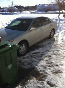 2003 TOYOTA CAMRY XLE (AS IS) $1000