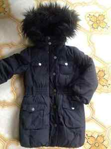 GAP Down-Filled Warmest Three-Quarter Jacket Coat Girl Size 4-5