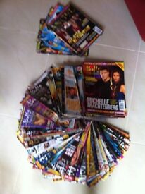 Lots of Buffy and Angel magazines