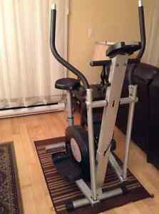 Stationary bicycle exercise